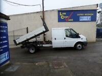 Ford Transit 350 1 Stop Crew Cab Tipper
