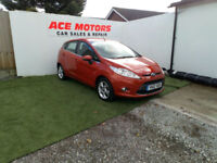 2012 62 FORD FIESTA 1.2 ZETEC,5 DOOR,ONLY 56000 MILES WITH 1 OWNER FROM NEW