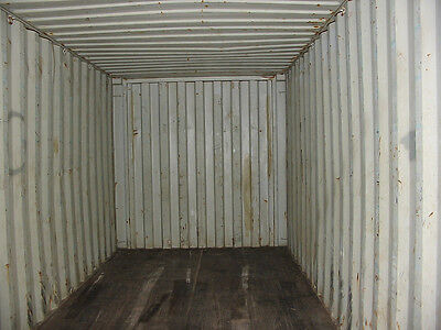 40 Shipping Container - Storage Container - As Is - Savannah Ga