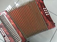 Hohner double Ray de luxe Irish style BC tuning