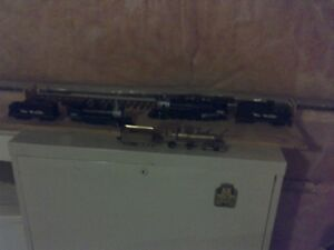 Brass model trains and extras