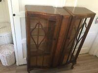 Display vintage cabinet