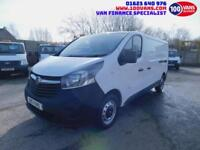 VAUXHALL VIVARO 1.6CDTi ( 115PS ) 2900 L2H1 LWB WORK VAN F/S/H FINANCE ARRANGED