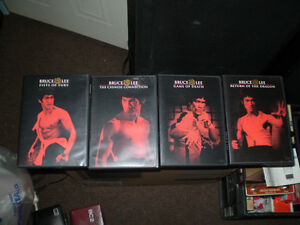 vhs collection de 4 vhs de Bruce Lee