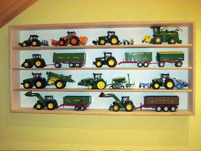 S017 Vitrine für Traktor Landmaschine Baufahrzeuge 1:32