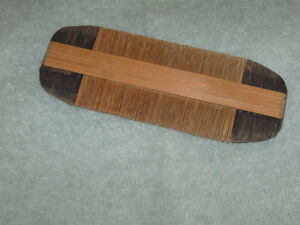 ..Hand-Crafted Wooden Comb [From the '20's]