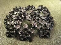 Lovely Brooch with Black Stones