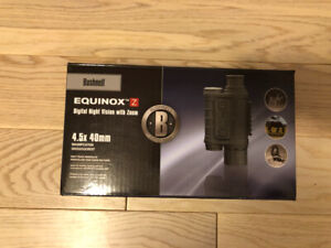 Equinox digital night vision with zoom