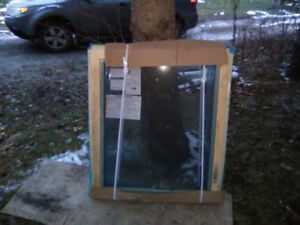 New windows and used