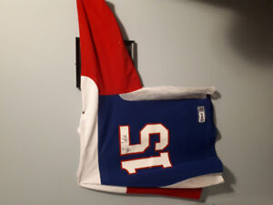 Signed Whitby Warriors Lacrosse Jersey