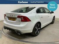 2017 Volvo S60 D4 [190] R DESIGN Lux Nav 4dr Geartronic [Leather] SALOON Diesel