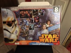 Star Wars 8 in 1 puzzle pack Kingston Kingston Area image 1