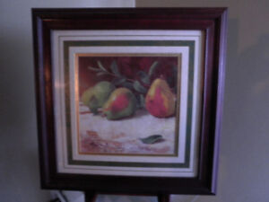 BEAUTIFUL! Print of Pears – Pier One!
