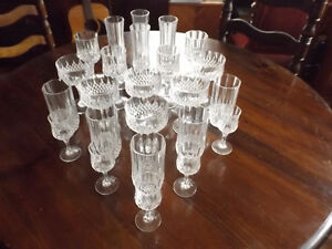 Cristal D'Arques Crystal Glassware - NEW PRICE