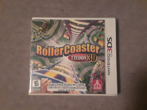 Roller Coaster Tycoon 3D - 3DS