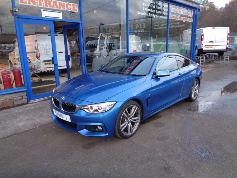 2014 BMW 4 SERIES 435I M SPORT COUPE PETROL