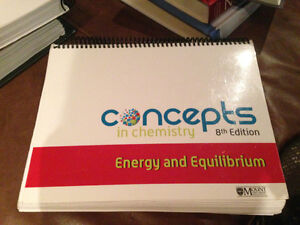 MSVU Chemistry Textbooks