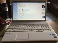 Sony Vaio laptop Intel Core I3 2.27 ghz 4gb ram