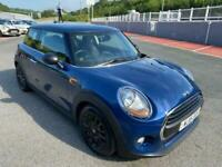 2015 15 MINI ONE 1.2 Automatic 3dr in Metallic Blue with only 24,000 miles