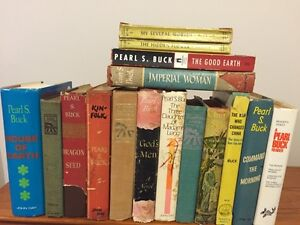 PEARL S. BUCK collection of books for sale.
