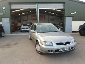 Honda Civic 1.6 AUTOMATIC LS Px to clear