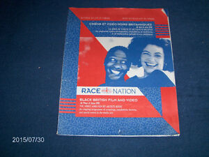 RACE NATION-1991-BLACK BRITISH FILM & VIDEO-FINE ARTS-VINTAGE