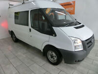 2011 Ford Transit 2.2TDCi 280 Crew Cab MWB ***BUY FOR ONLY £36 A WEEK***