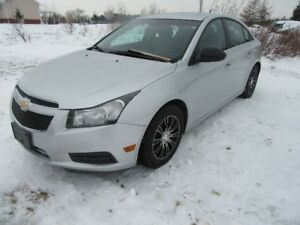 2012  CRUZE   LS  ONLY  72 KM  NEW  MVI  NEW MAGS