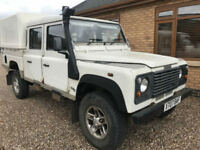 2001 Land Rover Defender Double 130 Cab High Capacity 2.5 TD5 4X4 VERY RARE PX