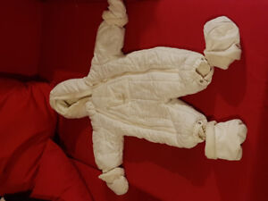 Snowsuit - baby 6 to 9 months