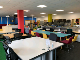 Office Furniture, Mesh chairs, office desks, filling Cabinet, From £10