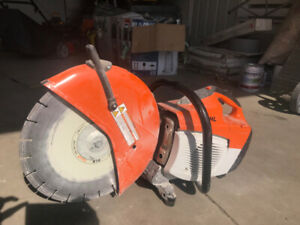 STIHL - TS 500i cut-off saw FOR $1100