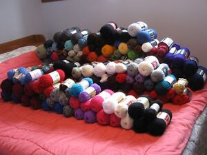 YARN For Sale LOTS Of It      Reduced Price
