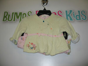 Girl's 3 months 2pcs long sleeve/pant outfit London Ontario image 1