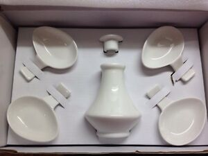 New! Soya sauce saucer and bottle set