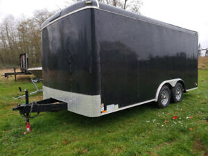 2016 16' Continental Tailwind 8.5' wide W/upgraded 5200lbs axles