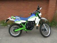 1990 KAWASAKI KLR250 KLR 250 BLUE NATIONWIDE DELIVERY AVAILABLE