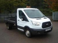 Ford Transit 2.2 Tdci 100Ps S/C TIPPER DIESEL MANUAL WHITE (2014)