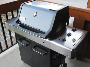 Weber Spirit E-310 Natural Gas BBQ with Matching Cover