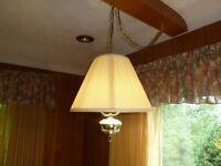 Hanging Lamp - Brass