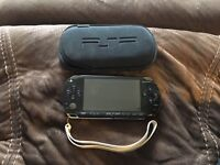 PSP with 7 games & 1 DVD