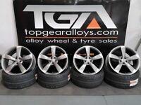 """21"""" Genuine Q7 ROTOR Alloy Wheels 4H0601025BA"""