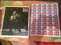VINTAGE ELVIS 1993 TORONTO STAMP SET FIRST DAY COVER RETRO PIC