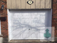 New Garage door installation & sale by trained techs