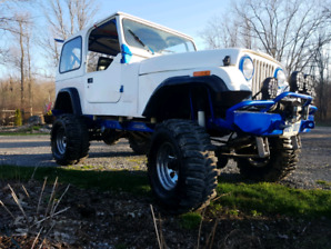 1984 Jeep CJ Mud Truck