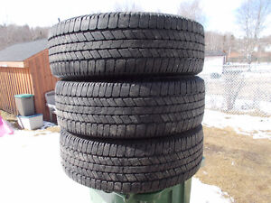 LT265/70/18 inch Goodyear Truck Tires / TONS OF TREAD