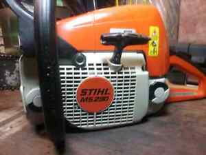 Looking for stihl chainsaws