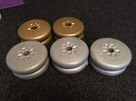 York Weight Discs.