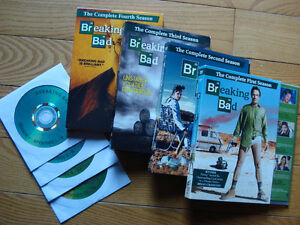 Breaking Bad DVDs
