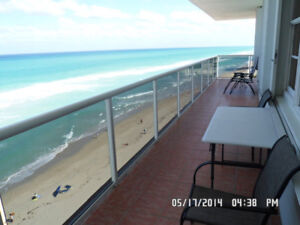 Oceanfront  2/2 Vacation Rental in Hollywood FL until Jan. 2